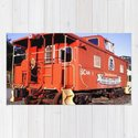 Lil Red Caboose -Wellsboro Ave Hurley ArtRave by artrave