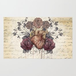 Flowers from my heart Rug