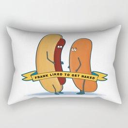 Naked Frank Rectangular Pillow