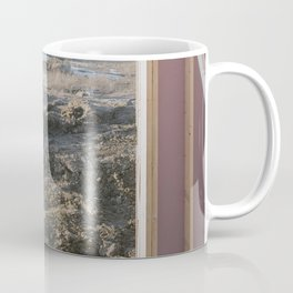 Idyllic Landscape Found within Suburbia's Mauve Constructions Coffee Mug