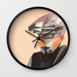 LowPolyLeia Wall Clock