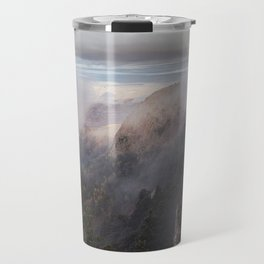 Sandia Mountains in the Fall Travel Mug