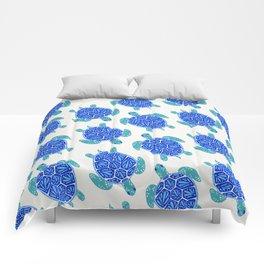 Sea Turtle – Blue Palette Comforters