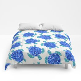 Sea Turtle – Blue Palette Comforters