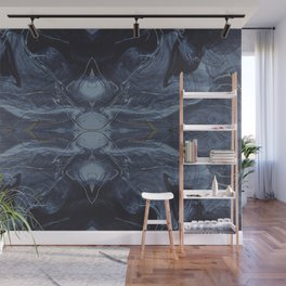 Abstract Orb Wall Mural