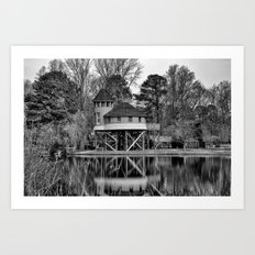 Room by the Lake Art Print