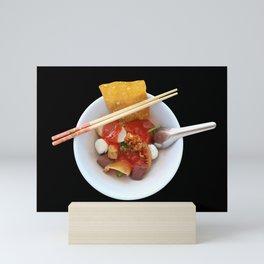 Yen Ta Fo Thai Pink Noodle Soup Mini Art Print