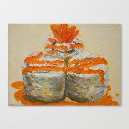 Tempura Sushi Canvas Print