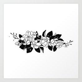 Magnolia Bouquet Art Print