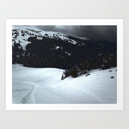Loveland Pass Art Print