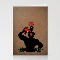 muscle Stationery Cards featuring Nando Muscle!  by Mazhar Mahmud