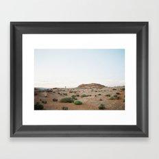 desert color in film Framed Art Print