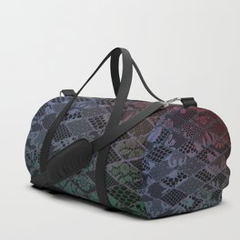 dark lace Duffle Bag