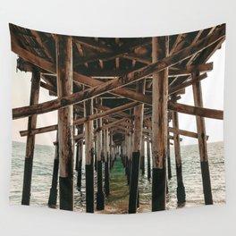 Balboa Pier Print {1 of 3}   Newport Beach Ocean Photography Teal Summer Sun Wave Art Wall Tapestry
