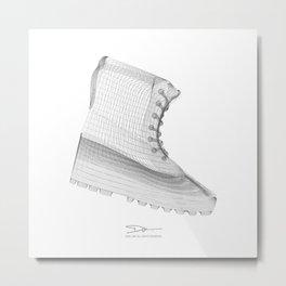 YEEZYS 950 Boost Sneakers Art Metal Print