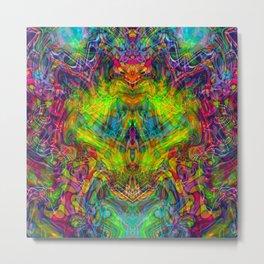 Space Dragon Metal Print