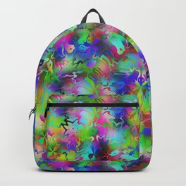 Electric Rainbow Shocker Backpack