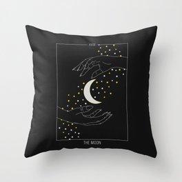 The Soon - Tarot Illustration Throw Pillow