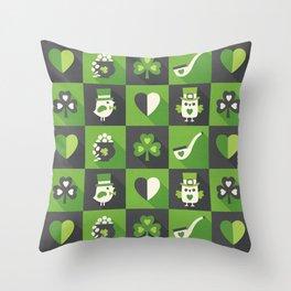 IRISH EYES ARE SMILING Throw Pillow