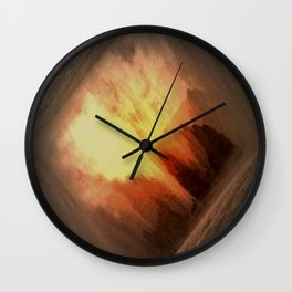Other World - Landing Wall Clock
