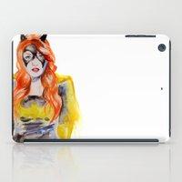 batgirl iPad Cases featuring BATGIRL by Clementine Petrova