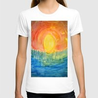 hindu T-shirts featuring Hindu Creation by Brusling