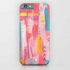 Pink Abstract iPhone 6s Slim Case
