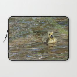 Gosling Swimming 3 Laptop Sleeve