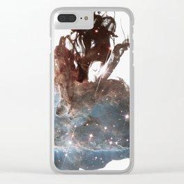 Drops of Nebula V Clear iPhone Case