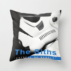 The Siths-Hateful of Rebels Throw Pillow