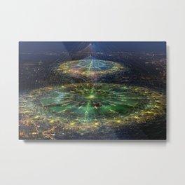 City Mandalas Metal Print