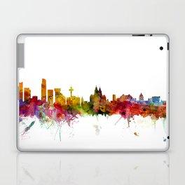 Liverpool England Skyline Cityscape Laptop & iPad Skin