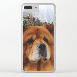 Dog Chow Chow Clear iPhone Case