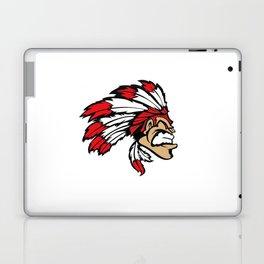 American indian man. Mascot. Kentucky. Laptop & iPad Skin
