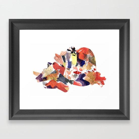 en la espesura Framed Art Print