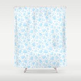 Diamond Pattern Shower Curtain