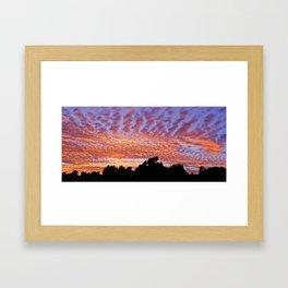 Sunset At Marbella Golf & Country Club Framed Art Print