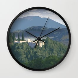 Napa Valley - Sterling Vineyards, Calistoga District Wall Clock