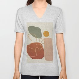 Geometry Abstract 2 Unisex V-Neck