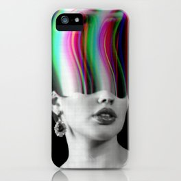 The Glitch Experience iPhone Case