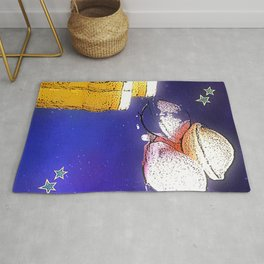 Flying Saucers bywhacky Rug