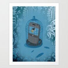 prison tweet  Art Print