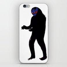 Uomo Nero iPhone & iPod Skin