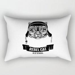REBEL CAT Rectangular Pillow