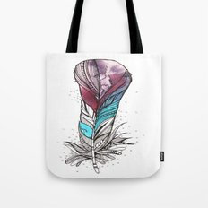 Monsoon Feather Tote Bag