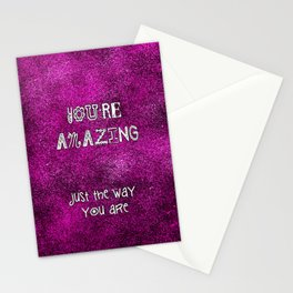 You're Amazing Stationery Cards