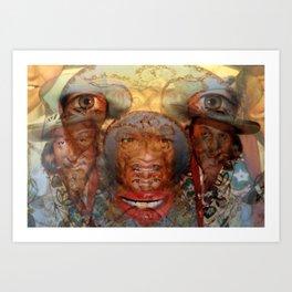 FELIX CULPA Art Print