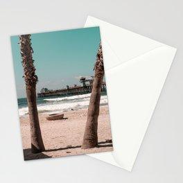 Oceanside Beach, California Stationery Cards