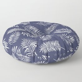 Leaves of palm tree Floor Pillow