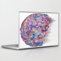 vonnegut Laptop & iPad Skins featuring Tralfamador by Rachel Elizabeth Ward
